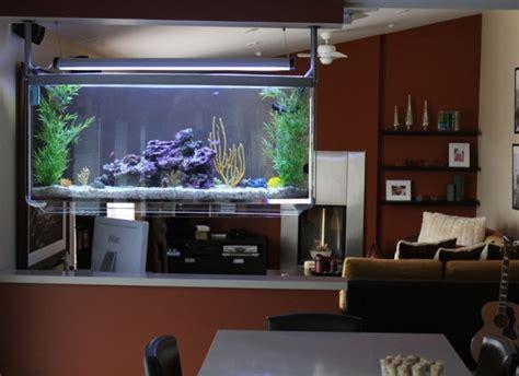 aquarium l fish mirror frame moving picture ocean in kitchen aquariums in interior interiorholic com