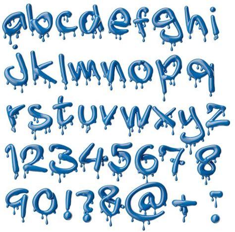 printable melting font 17 best images about fonts printables on pinterest