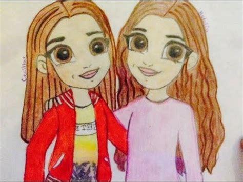 imagenes a lapiz de amigas dibujo de amigas emoji friends naty youtube