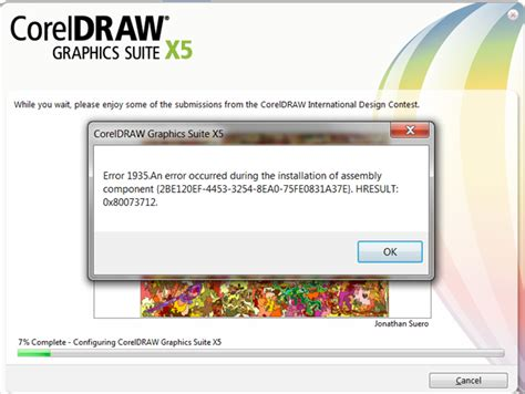 corel draw x5 offline installer error 1935 coreldraw graphics suite x5 coreldraw