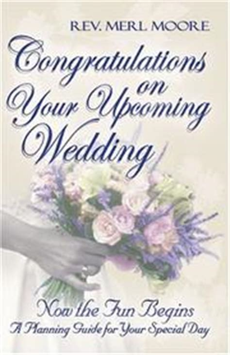 Wedding Nuptials Congratulations by Congratulations On Your Upcoming Wedding Open Library