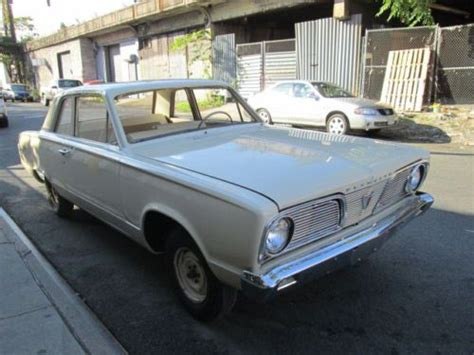 buy used 1966 plymouth valiant roller restored shell in
