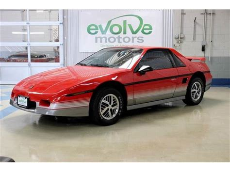 old car manuals online 1985 pontiac fiero security system 1985 pontiac fiero for sale on classiccars com 3 available