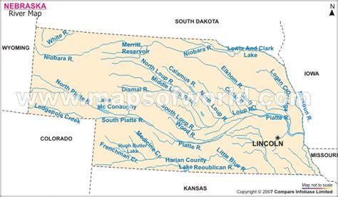 les lincoln nebraska nebraska carte