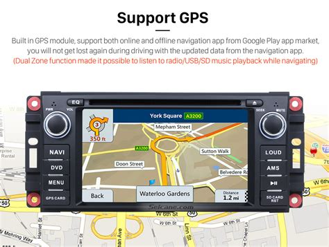 2012 Jeep Grand Navigation System Android 6 0 Aftermarket Oem Gps Dvd Player For 2008 2012