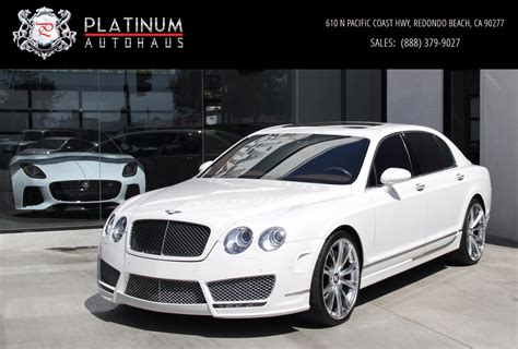 custom bentley flying spur 2009 bentley continental flying spur speed mansory