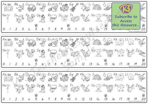 printable alphabet strip printable alphabet desktop strips k 3 teacher resources