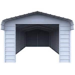home depot carport versatube enclosure kit for 12 ft w x 20 ft l x 7 ft h