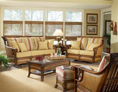 Sunroom Furniture Rattan Furniture Is Perfect For The Wicker Living Room Chair