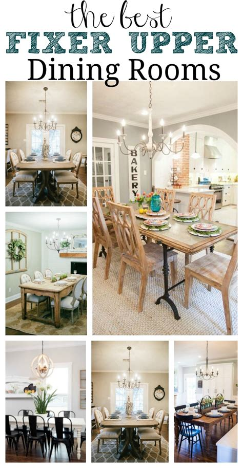 esszimmer inspiration favorite fixer dining rooms