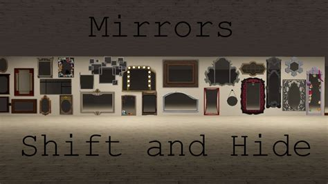 Floor Plan Furniture mod the sims mirrors shift amp hide with walls down
