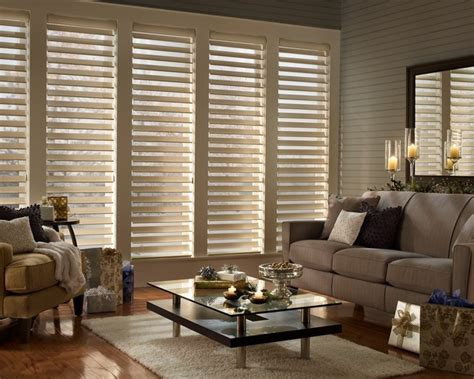 living room window blinds douglas silhouette window shadings traditional living room