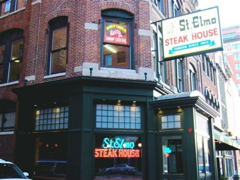 St Elmo Steak House Indianapolis In by Pin By Of The On Places I D Like To Go