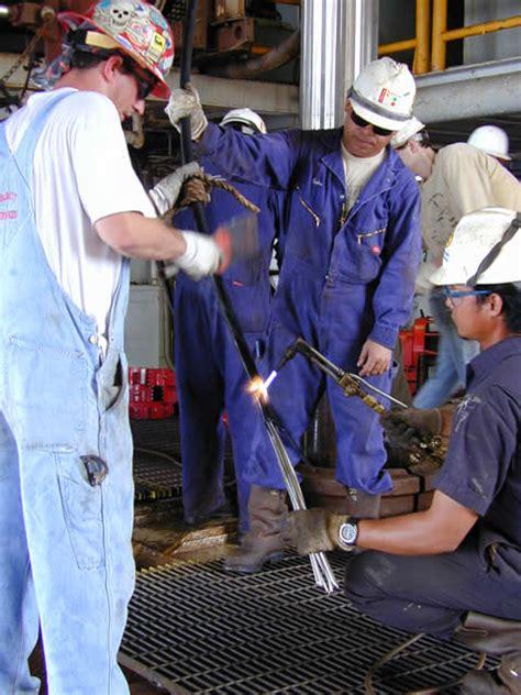 Transocean Welding Application Drilling Program Leg 196 Week 7