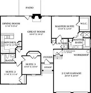 1400 Square Foot House Plans by 1400 Square Feet 3 Bedrooms 2 Batrooms 2 Parking Space