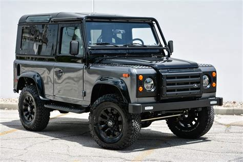 lifted land rover 2016 feast your on this custom land rover defender