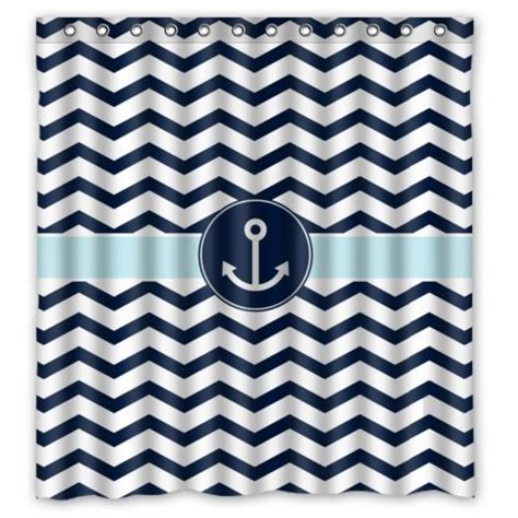 chevron navy curtains chevron shower curtain navy best font blue and white