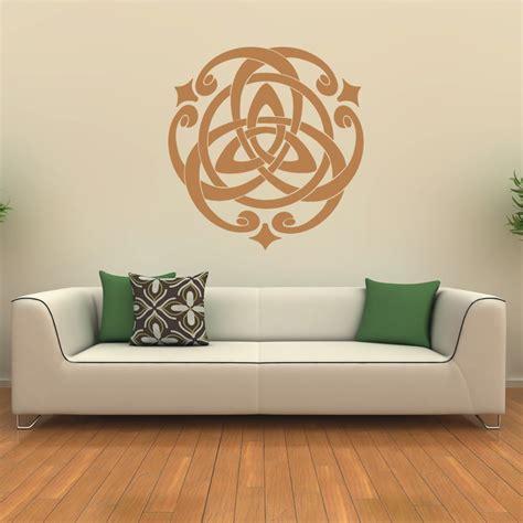 wall sticker patterns ornamental circular pattern home wall stickers wall decals transfers ebay