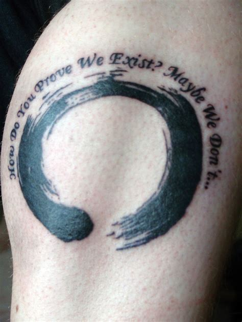 zen tattoo quotes existential tattoo quote existence zen existential
