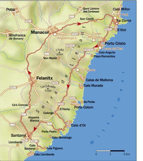 Karpet Karet Calya mallorca infos zur tour la figuera im osten bei roadbike de