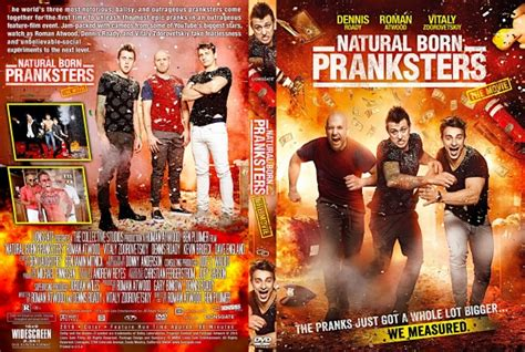 Natural Born Pranksters 2016 Natural Born Pranksters Dvd Covers Labels By Covercity