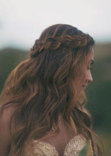 braided down dos wedding braid crown and hair 2014 on pinterest