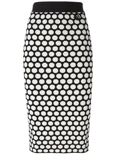 Polka Dot Pencil polka dot pencil skirt dress