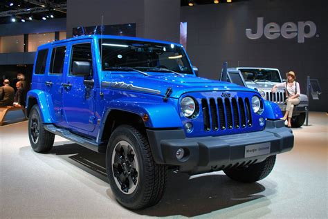 jeep wrangler polar salon de francfort 2013 jeep wrangler polar edition