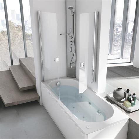 vasche da bagno con idromassaggio vasca idromassaggio con box doccia per la casa idfdesign