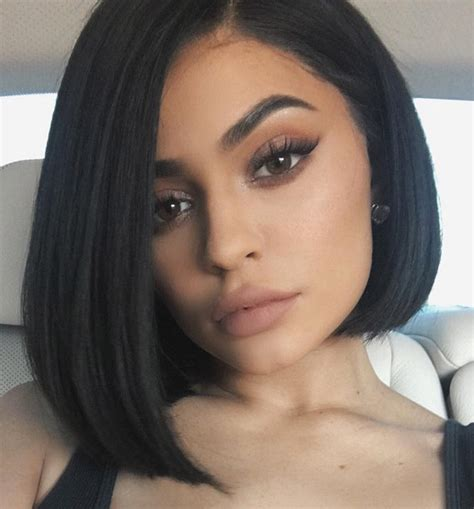 best haircut for jet black hair 10 kylie jenner hairstyles that are downright goals
