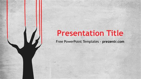 scary powerpoint template preview prezentr
