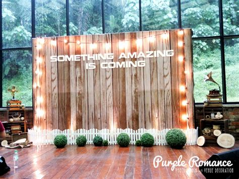 Wedding Backdrop Kl by Wooden Rustic Backdrop At Glasshouse Seputeh Kl Malaysia