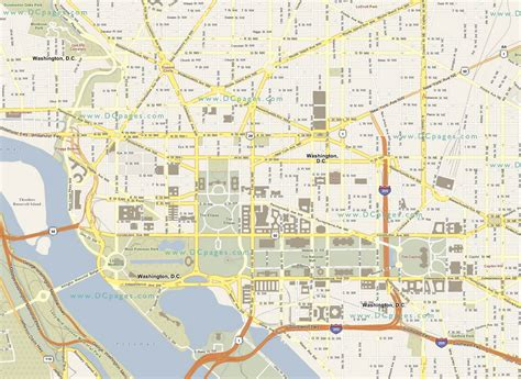 washington dc city layout map duncan well being of the parisians