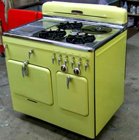 stoves kitchen appliances interior design trend spotting vintage retro appliances