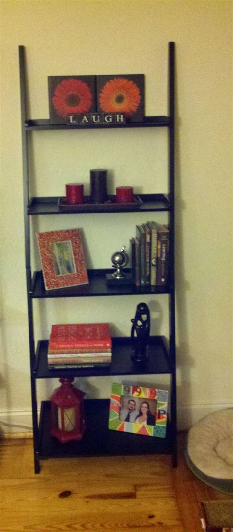 So Excited About Our New Ladder Shelf And All Of The Home Goods Shelves
