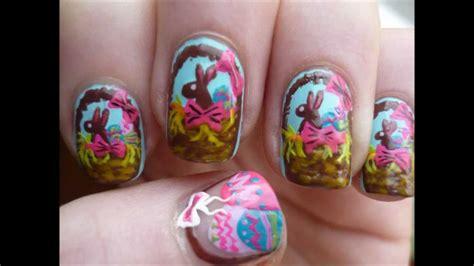 nail art easter tutorial easter egg basket nail art easter tutorial youtube
