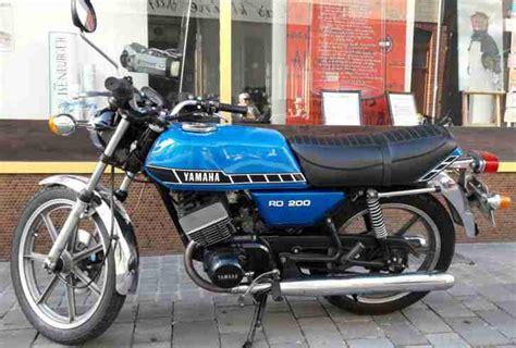 Yamaha Zweitakt Motorrad by Yamaha Rd 200 Dx Zweitakter Motorrad Oldtimer Bestes