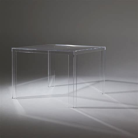 sgabelli kartel tavolo invisible kartell shop su dtime