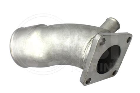 yanmar jh jh stainless steel exhaust mixing elbow replacement hdi marine energy