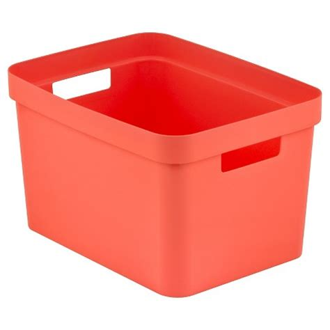 Essentials Melon room essentials rectangular storage bin melon target