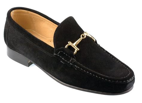 black suede mens loafers orsini mens black suede horsebit snaffle loafer