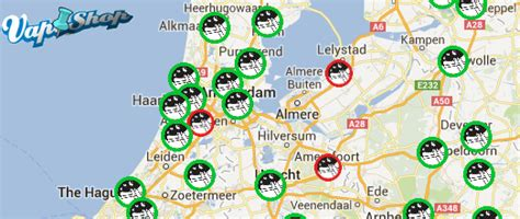 netherlands coffeeshop map maps mania where you can get high in the netherlands