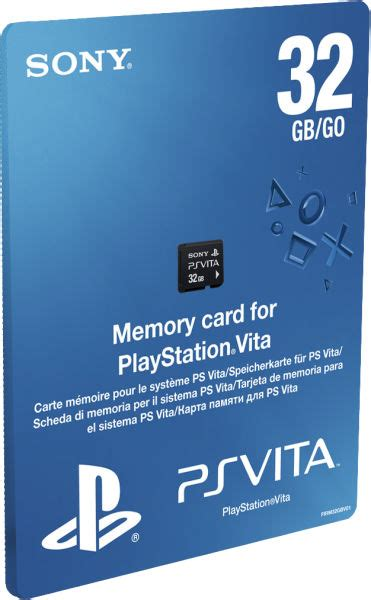Memory Ps Vita 32gb By Duniapsp ps vita memory card 32gb ps vita accessories zavvi