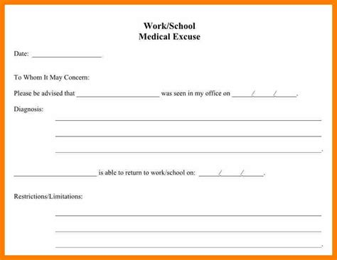 dental notes templates school excuse form vocaalensembleconfianza nl