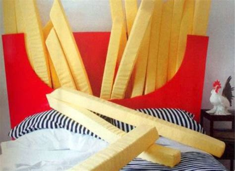food beds supersized bed promises dreams of fries dancing through