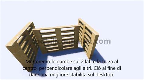 costruire una scrivania in legno istruzioni su come effettuare una scrivania con