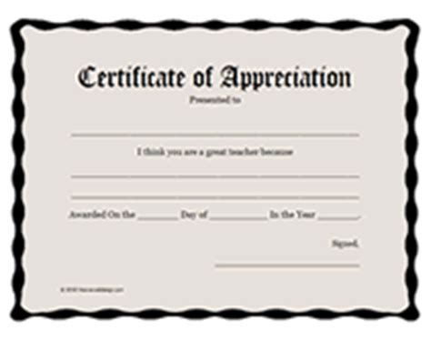 certificate of appreciation for teachers template printable teachers appreciation week certificates awards
