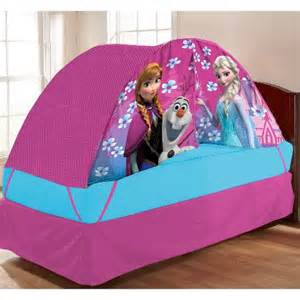 Disney 174 frozen anna elsa amp olaf bed tent with pushlight pink 72