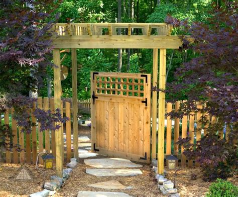 Wood Garden Arbor Gates 28 Best Images About Asian Gates On Fence