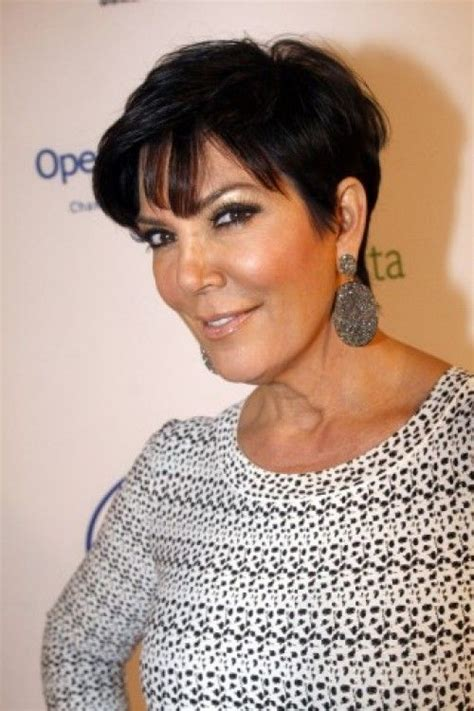 sexy kris jenner hairstyles 40 best kris jenner haircut images on pinterest kris